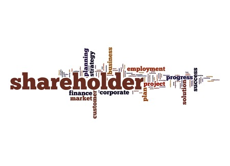 shareholder: Shareholder word cloud