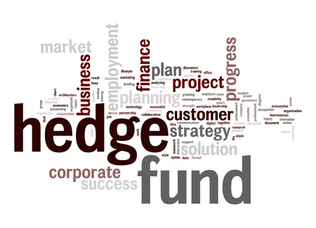 Hedge fund word cloud