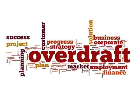 overdraft: Overdraft word cloud