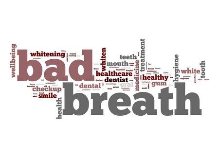 bad breath: Bad breath word cloud
