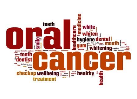 Oral cancer word cloud