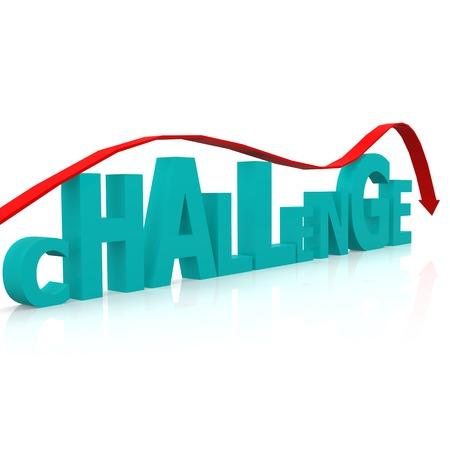 overcome a challenge: Overcome challenge