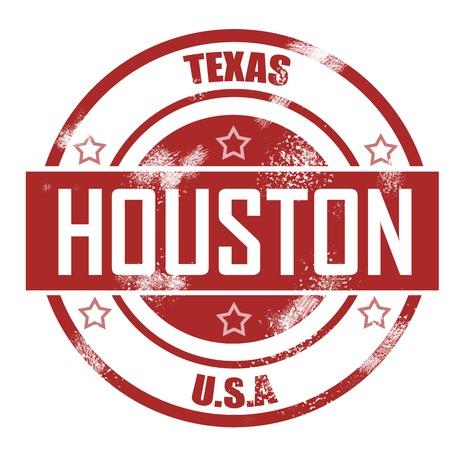 houston: Houston stamp