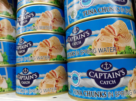 springwater: Cans of Captain Catch fish chunk