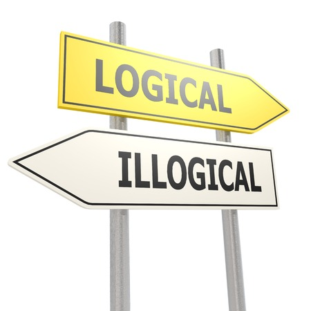 illogical: Logical illogical road sign