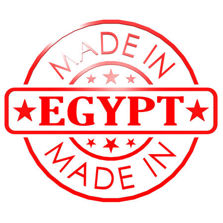 Made in Egypt red seal photo