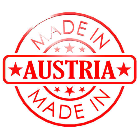 Made in Austria red seal photo