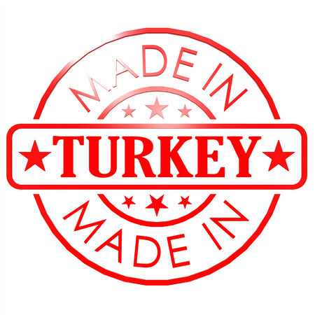 Made in Turkey red seal photo