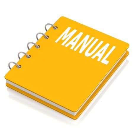 hard cover: Manual hard cover book