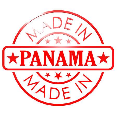 panama: Made in Panama red seal Stock Photo