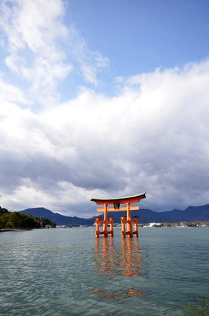 10 best: MIYAJIMA, JAPAN - DEC 10: A view of Itsukushima shrine in Miyajima, Japan on December 10, 2014. Itsukushima Shrine is a shrine on the island of Miyajima, best known for its floating torii gate. Editorial