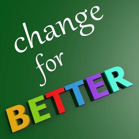 better: Change for better