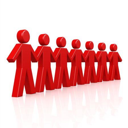 uomo rosso: Uomo rosso in linea