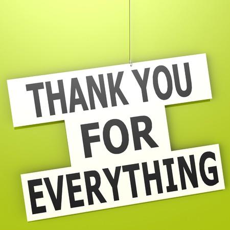 agradecimiento: Gracias por todo