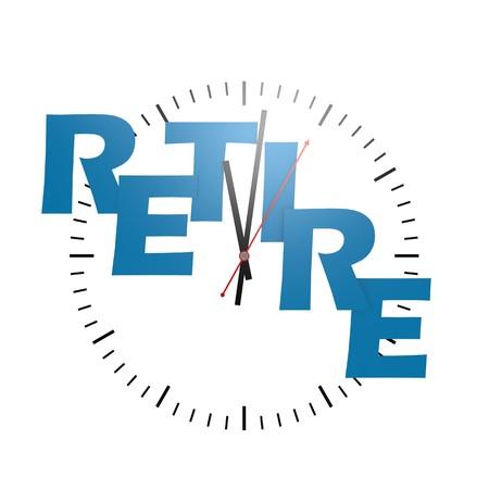 retire: Retire word with clock
