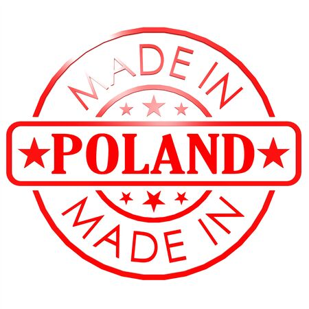 Made in Poland red seal photo