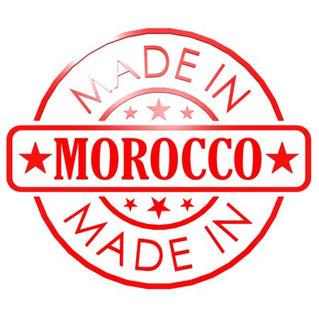 made in morocco: Made in Morocco red seal