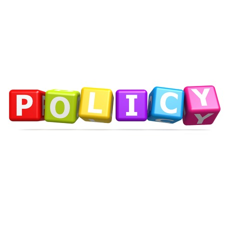 buzzword: Policy buzzword image with hi-res rendered artwork that could be used for any graphic design.