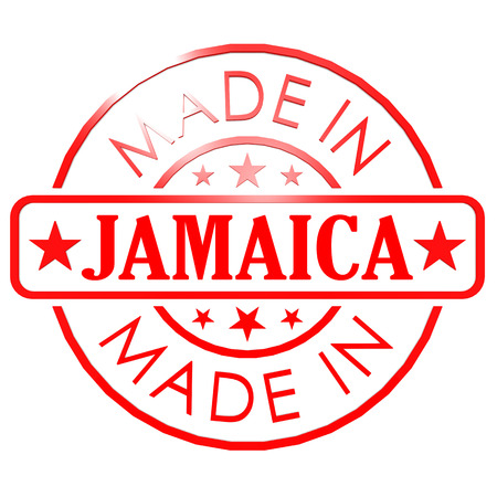 Made in Jamaica red seal photo