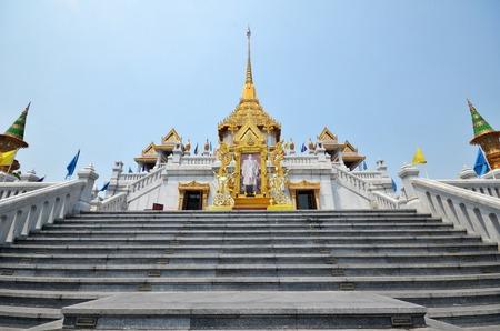 bouddha: Wat Traimit (Le Temple du Bouddha d'or) � Bangkok, Tha�lande