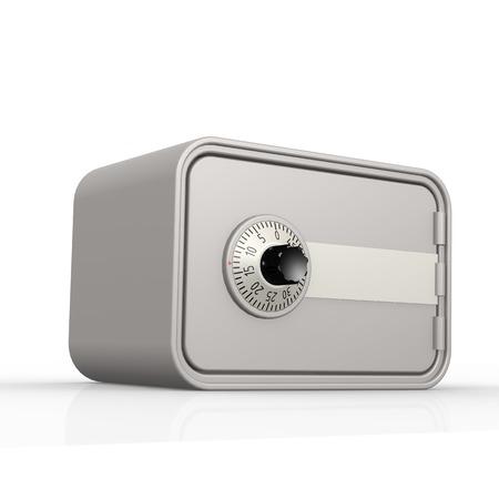 caja fuerte: Caja gris con las ilustraciones de blanco Imagen de fondo con hi-res prestados que podría ser utilizado para cualquier diseño gráfico.