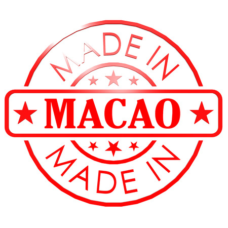 red seal: Made in Macao red seal