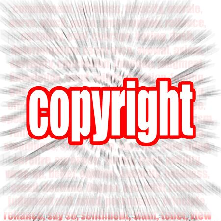 expires: Copyright word cloud image with hi-res rendered artwork that could be used for any graphic design.