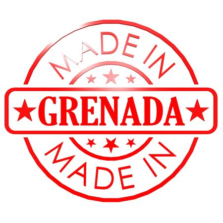 red seal: Made in Grenada red seal