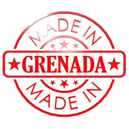 grenada: Made in Grenada red seal