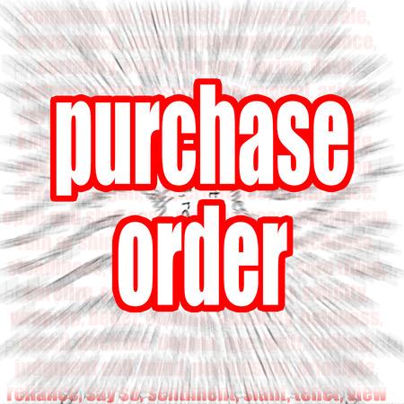 orden de compra: Orden de compra imagen nube de palabras con hi-res prestados obra que podr�a ser utilizado para cualquier dise�o gr�fico.