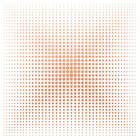 banger: Orange dot with white background image with hi-res rendered artwork that could be used for any graphic design.