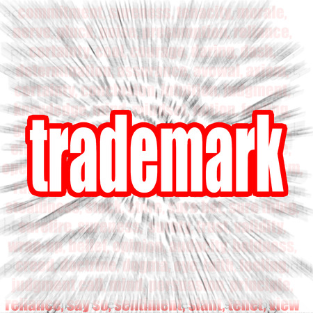 branded product: Trademark word cloud image with hi-res rendered artwork that could be used for any graphic design.