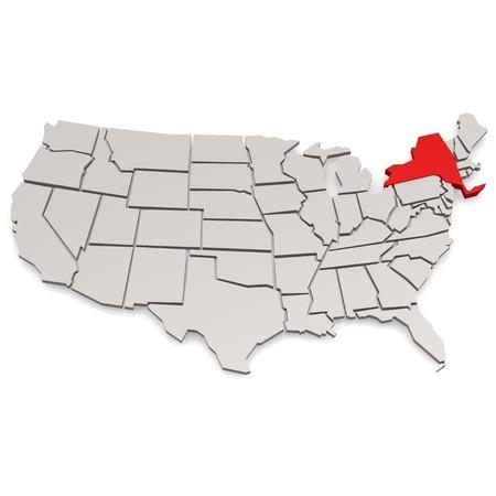뉴욕 그래픽 이미지에 대 한 사용할 수있는 고해상도 렌더링 된 작품.