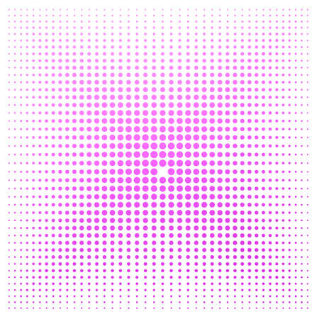 banger: Pink dot with white background image with hi-res rendered artwork that could be used for any graphic design.