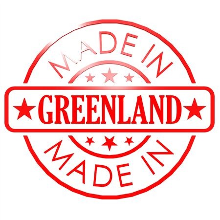 red seal: Made in Greenland red seal