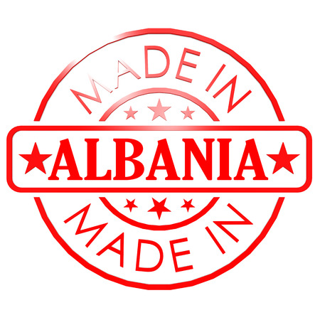 red seal: Made in Albania red seal