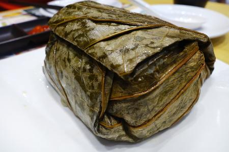 Chinese Dim Sum - Sticky Rice with Chicken