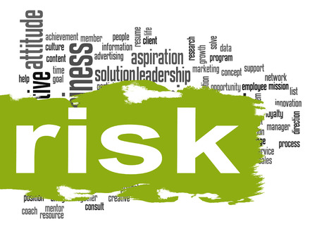 difficult to find: Risk word cloud image with hi-res rendered artwork that could be used for any graphic design.