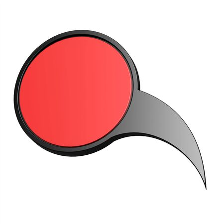red  pointer: Black red pointer image with hi-res rendered artwork that could be used for any graphic design.