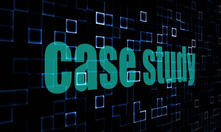 case: Pixelada palabras estudio de caso sobre la imagen de fondo digital con Hi-Res rindió obra que podría ser utilizado para cualquier diseño gráfico.