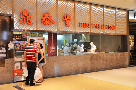 10 best: Michelin star awarded Din Tai Fung is ranked as one of the worlds Top 10 Best Restaurants by The New York Time Editorial