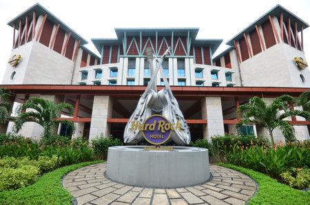 singaporean: SINGAPORE - 02 OCT, 2016: Hard Rock Hotel Sentosa. Hard Rock Hotel is a resort hotel located within Resort World Sentosa.