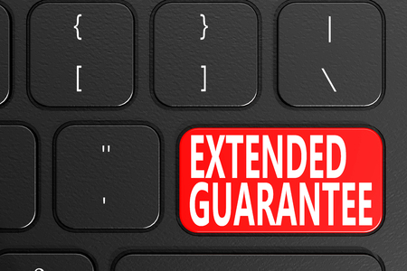 durability: Extended Guarantee on keyboard, 3D rendering