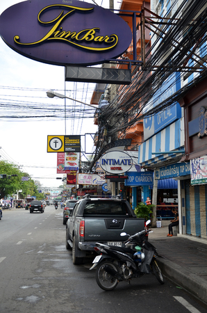 PATTAYA, THAILAND - 19 NOV, 2016: Viiew of Street in Pattaya.Thailand