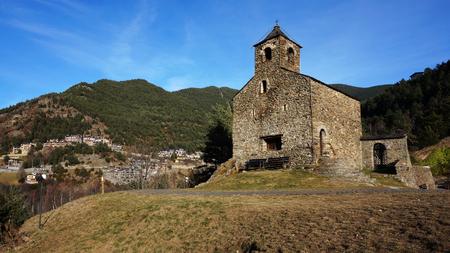 Romanesque church of St. Cristopher, Andorra, UNESCO World Heritage Site