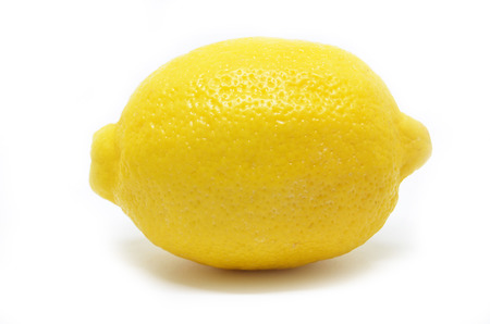 Lemon isolated on white background. Heathy fruit concept Stock Photo