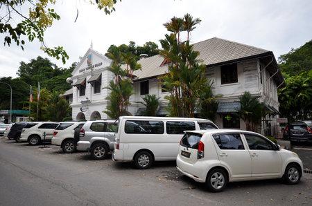 コタ キナバル, マレーシア 29 淳, 2017: サバ州観光ボード buiding ガヤ通りホテル シックスティ 3 の向かい。