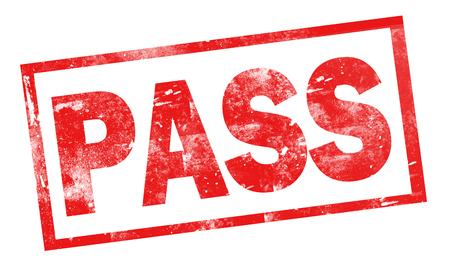 Pass word in red frame, 3D rendering Reklamní fotografie