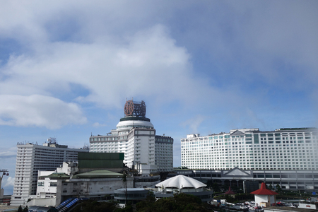 GENTING HIGHLAND, MALAYSIA - DEC 03, 2018 : View of Resort world Genting at Genting Highlands, Malaysia. Resort world Genting is an integrated hill resort development comprising hotels, shopping malls, theme parks and casinos