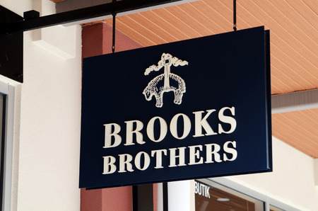 GENTING HIGHLANDS, MALAYSIA- DEC 03, 2018 : Brooks Brothers fashion store at Genting Highlands, Malaysia. Brooks Brothers is one of oldest clothes store chains in the USA founded in year 1818. Éditoriale